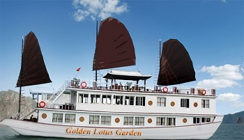 Du Thuyền Golden Lotus Graden 2 Ngày 1 Đêm