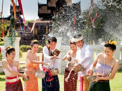 Du lịch Thái Lan 5 ngày 4 đêm - lễ hội té nước SongKran
