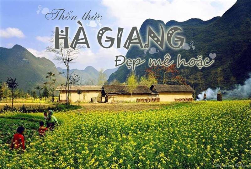 Du Lịch Hà Giang - Mùa Hoa Tam Giác Mạch 3 Ngày 2 đêm